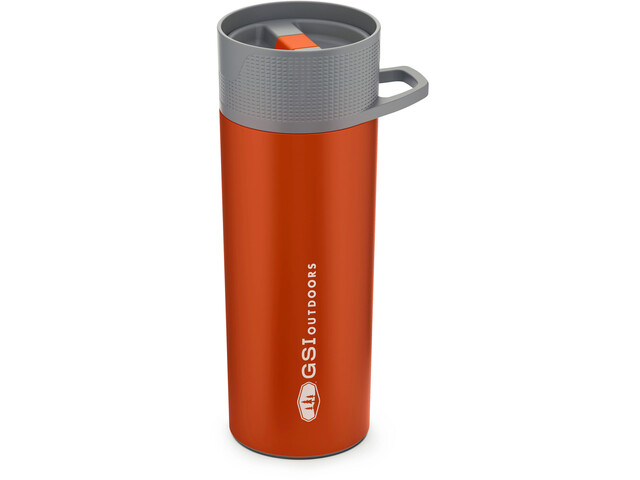 GSI Glacier Stainless Commuter Thermos, orange